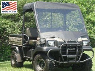 GCL UTV Kawasaki Mule 3000/3010 Vinyl Windshield/Top Cap Combo Enclosure. KAW301 WTO: Automotive