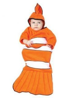 Clownfish (Clown Fish) Baby Bunting Infant Costume Size 0 6mo Clothing