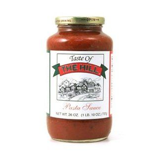 Taste of the Hill Regular Pasta Sauce  Tomato And Marinara Sauces  Grocery & Gourmet Food