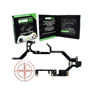 Xbox 360 Intensafire Rapid Fire Kit with Free No Scope Sticker: Video Games