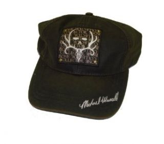 Bone Collector Brown Cap ~ Logo'd ~ Mike Waddell Signature Series Hunting Cap at  Men�s Clothing store Baseball Caps