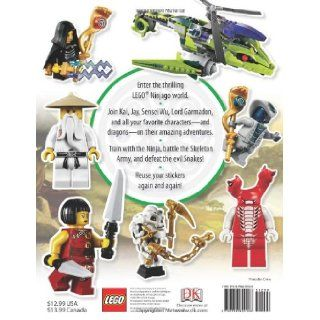 Ultimate Sticker Collection LEGO Ninjago (ULTIMATE STICKER COLLECTIONS) DK Publishing 9780756690168 Books