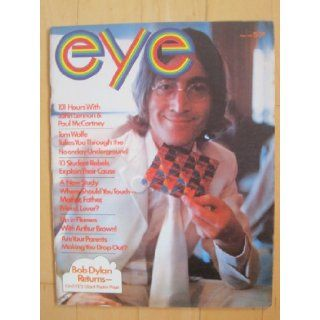 Eye Magazine, September 1968. Beatles cover story, Tom Wolfe, Jean Luc Godard Eye Magazine Books