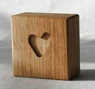 oak heart by lost and found @ mike jones furniture
