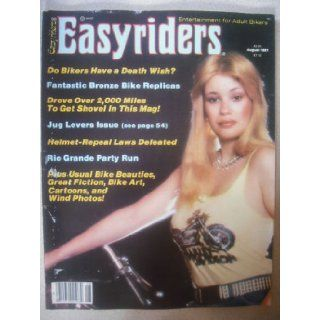 EASYRIDERS MAGAZINE     AUGUST 1981 ISSUE: EASYRIDERS: Books