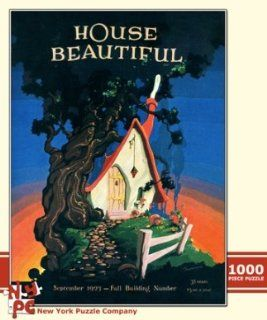House Beautiful Fairy Tale Cottage 1000 Piece Jigsaw Puzzle Toys & Games