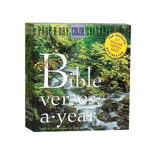 365 Bible Verses A Year Page A Day Calendar 2008 Workman Publishing 9780761145752 Books
