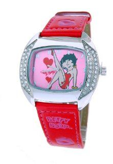 Betty Boop Womens Leather Strap Watch #BB W367B at  Women's Watch store.