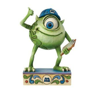 Shop Jim Shore Disney Traditions Mike Wazowski of Monster Figurine, 3.375 Inch at the  Home D�cor Store. Find the latest styles with the lowest prices from Disney