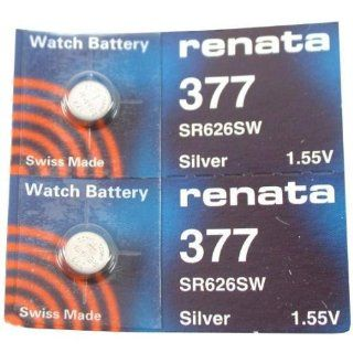 Renata Watch Battery 377 (Sr626Sw)