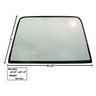 1969 70 Mustang Rear Window Glass with rubber seal (Fastback) Automotive