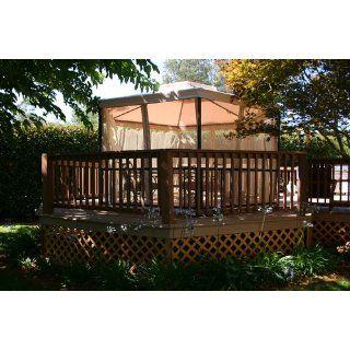 Hampshire Gazebo Replacement Canopy  Garden Oasis  Patio, Lawn & Garden