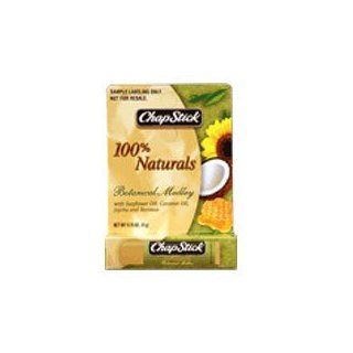 ChapStick 100 Percent Naturals Botanical Medley Lip Balm, 12 Pieces: Health & Personal Care