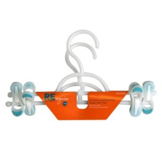 Soft Touch Skirt Hangers with Clips 2 pk.