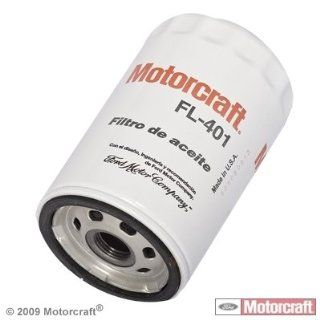 Motorcraft #FL401 FILTER ASY   OIL (FL401): Automotive