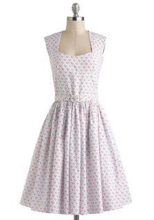 Bernie Dexter Little Hearts on the Prairie Dress  Mod Retro Vintage Dresses