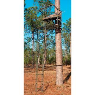 OlMan Big Buddy Deluxe 16 2 Man Ladder Stand 440239