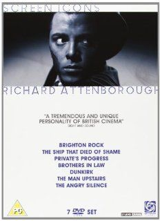 Richard Attenborough Collection (Brighton Rock / the Ship That Died of Shame / Private's Progress / Brothers in Law / Dunkirk / the Man Upstairs) [Region 2]: Richard Attenborough, Hermione Baddeley, William Hartnell, George Baker, Virginia McKenna, Ber
