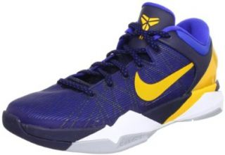 Nike Zoom Kobe VII 7 System Obsidian Yellow WBF Mens Basketball Shoes 488371 404 [US size 15] Shoes