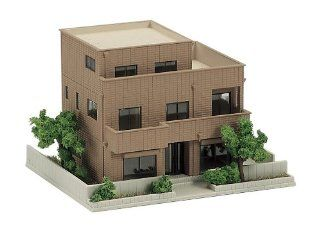 Kato 23 405B Dio Town City House Brown: Toys & Games