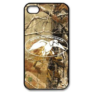 Drama Reality Show Duck Dynasty Gear Duck Commander Realtree Camo Hard Plastic Apple iPhone 4 4s Case Cover,Top iPhone 4 4s Case from Good luck to: Cell Phones & Accessories