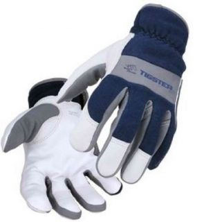 TIGster Premium Flame Resistant Snug Fit Kidskin TIG Welding Gloves   LARGE   Welding Safety Gloves