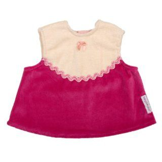 Baby Chaleco Frock Vanilla/Hot Pink   Infant : Baby Bibs : Baby