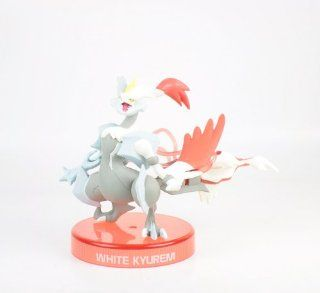 "Pokemon Black and White  White Kyurem Overdrive Miniature Figure With Base Aprox 2.5"": Toys & Games"