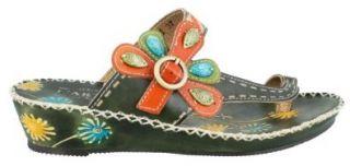 Spring Footwear SANTORINI OL Santorini Olive Shoes: Shoes