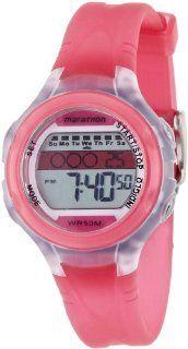 Timex T5K425 Ladies Marathon Pink Watch: Classic: Watches