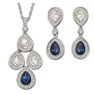 Swarovski Sensation Montana Jewelry Set: Jewelry