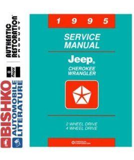 1995 Jeep Cherokee Wrangler Shop Service Repair Manual CD Engine Electrical Automotive