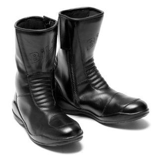 BILT Cyclone Waterproof Motorcycle Boots   11, Black Automotive
