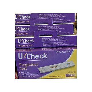"U CHECK Pregnancy Test ""over 99% Accurate"" Compare to "" e.p.t. "" 5 Pack: Health & Personal Care"