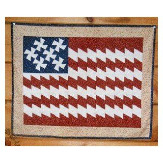 Patriotic Twist Wall Quilt Pattern Uses Lil Twister Tool
