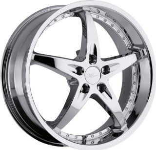MILANNI   453 zs 1   18 Inch Rim x 8   (5x4.5) Offset (38) Wheel Finish   Chrome: Automotive