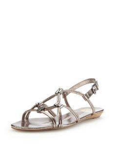 Aneta Metallic Sandal by DV by Dolce Vita