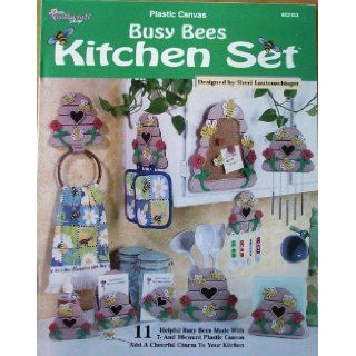 Busy Bees Kitchen Set, Plastic Canvas (Needlecraft Shop #842333): Sheri Lautenschlager: Books