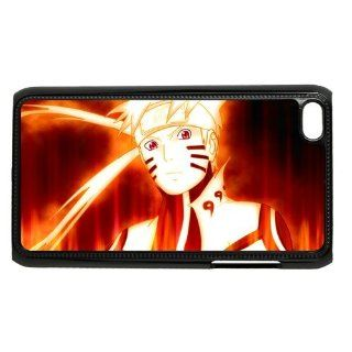 Ipod Touch 4 Case Colorful Printing Back Cover For Ipod 4 Naruto Cool Animation Style 05 Cell Phones & Accessories