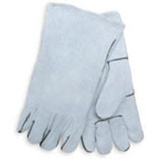 Mig Tig Arc Weld and Plasma Cutting Leather Welding Gloves 14 Inch: Automotive