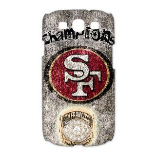 WY Supplier NFL San Francisco 49ers Team Samsung Galaxy S3 I9300 3D Case San Francisco 49ers logo designs WY Supplier 148083: Cell Phones & Accessories