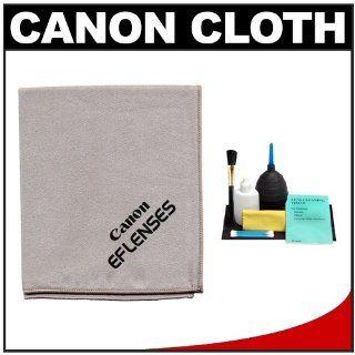 Canon Microfiber Cloth, Hurricane Blower, Brush, Fluid & Tissue Cleaning Kit for EF Lenses & EOS 1Ds, 1Ds Mark II, III, IV, 50D, 5D, 7D, Rebel XS, XSi, T3i, T4i & T5i Digital SLR Cameras : Camera & Photo