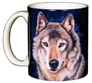 Lone Wolf 11 oz. Ceramic Coffee Mug Kitchen & Dining