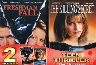 Freshman Fall / The Killing Secret (2 pack): Candace Cameron Bure, Mark Paul Gosselaar, John O'Hurley, Soleil Moon Frye, Bethany Rooney, Noel Nosseck: Movies & TV