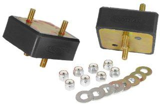 Prothane 1 503 BL Black V8 Engine Motor Mount Kit: Automotive