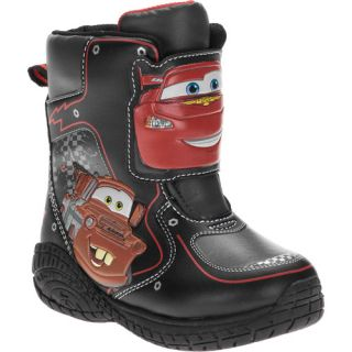 Disney Toddlers Cars Light Up Winter Boots Baby Clothing
