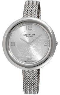 Stuhrling Original Women's 506.12112 Leisure Soiree Deauville Swiss Quartz Ultra Slim Stainless Steel Mesh Strap Watch at  Women's Watch store.