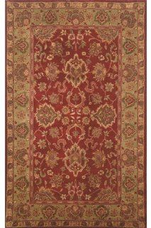 Elena Area Rug, 2'3x8' RUNNER, RED   Area Rug Sets