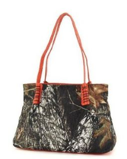 Mossy Oak Handbags Women's Camouflage Purses Orange: Clothing