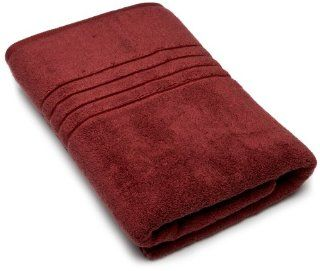 Lenox Platinum Collection 30 inch by 58 inch Bath Towel, Red Clay